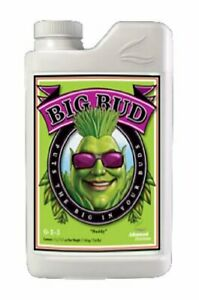 Advanced Nutrients Big Bud Liquid 1 Liter Bloom Booster Enhancer $30.79