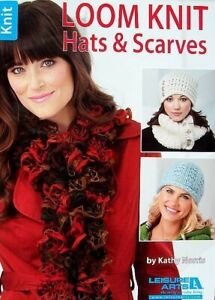Loom Knit Hats amp; Scarves Patterns Knit Cozy Fashions Without Needles LA