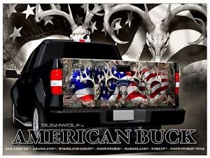 Deer Hunting Decals For Sale Outdoor Sporting Goods - Rear window hunting decals for trucksdeers in a forrest bw window graphic tint decal sticker truck