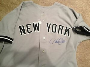 Derek Jeter Signed Game Used 2006 ALDS Road Jersey-Greatest Post Season - 1/1