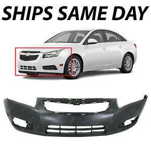 NEW Primered Front Bumper Cover Fascia for 2011 2014 Chevy Chevrolet Cruze $90.96