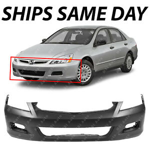 NEW Primered Front Bumper Cover Replacement for 2006 2007 Honda Accord Sedan $103.33
