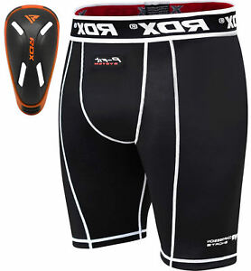 RDX Thermal Compression Armour Flex Shorts Gel Groin Cup Guard Base Layer Under $42.99