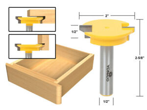 Reversible Drawer Front Router Bit - 1/2