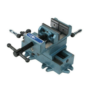 Wilton 6 in. Cross Slide Drill Press Vise w V-Grooved Jaws WMH11696 New
