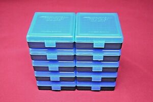 22 lr Ammo Box  Case  Storage (10 PACK BLUE) 1000 Rnds of STORAGE (NO AMMO)