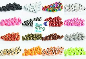 Blue Wing Olive Slotted Tungsten Fly Tying Beads 25 Pack