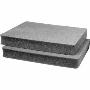 2 middle SOLID Replacement foam pieces for Pelican 1550.