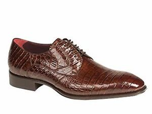 Mezlan Men's BERNARD ALLIGATOR (BROWN COLOR) SPORT Lace up Style #4074-J