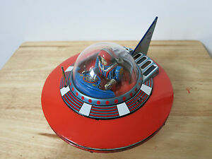 1960s yoshiya nasa spaceship rocket spacecraft tin