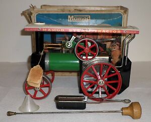 mamod live steam traction engine toy tractor model