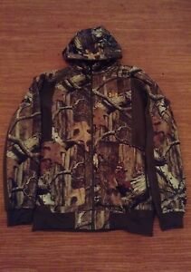 Under Armour ColdGear Ayton Hooded Camo Jacket-XL and Pants-W36