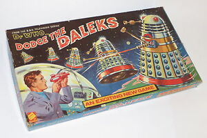 very rare dr who dodge the daleks board game codeg