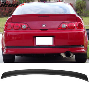 Fits 02-06 Acura RSX DC5 Type R Rear Trunk Duck Lip Spoiler Wing Unpainted - ABS