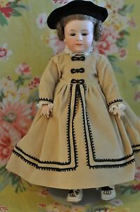 antique gebruder heubach 6969 character doll