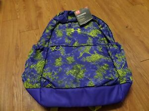 bnwt-girls under armour backapck- ua favorite- storm 1-purple