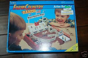 ertl farm country ranch action rodeo set