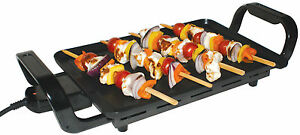 Portable Camping Travel & Home Double Non Stick Cooking Hot Plate Stove Grill