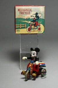 tin toy line mar mainspring tin walt disney