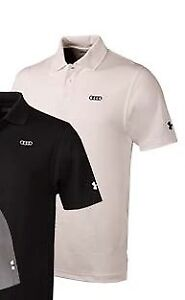 Audi Collection Under Armour Mens Performance Polo ACM-000-7WH-TL-G