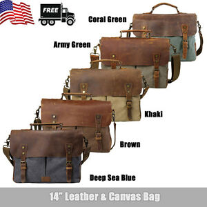 Canvas Leather 14