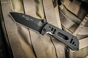 TOPS Knives MIL SPIE 3.5T-04 Tactical Folding Knife Tanto Blade MIL3.5T-04 New