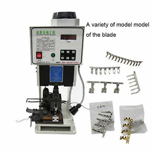 Automatic Wire Crimping Machine 1.5T Low Noise Terminal Crimping Machine 220V
