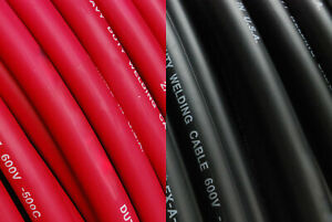 TEMCo 6 Gauge AWG Welding Lead & Car Battery Cable Copper Wire | MADE IN USA