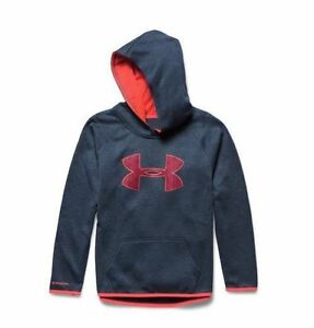 Under Armour Girls Armour Fleece Printed Big Logo Hoodie Save 30%!!   Small