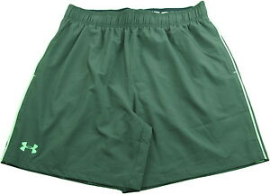 Under Armour Mens Size Large Heat Gear Mirage Shorts Green