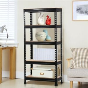 Heavy Duty Steel 5 Level Garage Shelf Metal Storage Adjustable Shelves Unit New $49.99