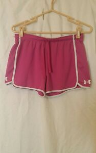 UNDER ARMOUR WOMENS TEAM VICTORY LOGO SHORTS MEDIUM AWESOME CONDITION