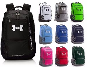 Under Armour Hustle 3 Backpack Team Bag School Bag NEW