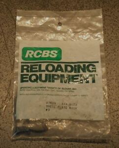 RCBS 4X4 Auto Shell Plate Assembly #9-(87609)-NEW