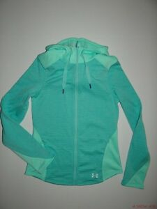 New Under Armour Womens UA Expanse Fitted Fullzip Hoodie Small