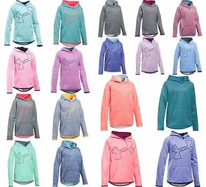 Under Armour Girls' Armour Fleece Novelty Jumbo Logo Hoodie **18 colors** NWT!!