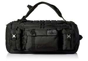 Under Armour Men's CORDURA Range Duffle Black Durable Backpack