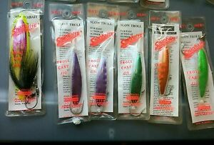 15 Hook Bros SNAPBAITS Snap Vintage Fishing Trolling Lures Bait Salmon Steelhead