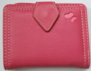 Fossil Bailey pink leather ladies wallet NEW  ! FREE SHIPPING