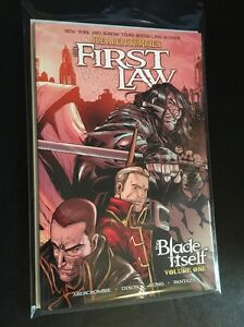 The First Law: The Blade Itself Graphic Novel by Joe Abercrombie