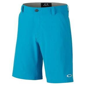 NWT OAKLEY MEN  STANCE O HYDROLIX  MENS GOLF SHORTS - PACIFIC BLUE size 34 sale