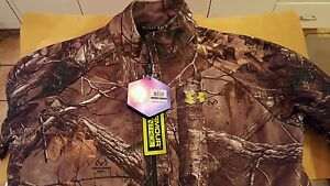 Under Armour Cold Gear Scent Control Realtree Rut Camo Hunting Jacket XXL