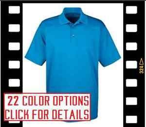 12 Custom Embroidered DRY FIT POLO SHIRTS * FREE LOGO Embroidery Personalized