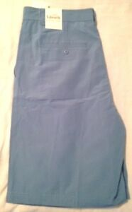 ASHWORTH~ MENS 34 NEW ~PERFORMANCE Weather Style Blue Shorts ~ GOLF NWT