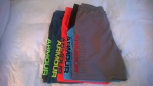Lot of 5 Under Armour Men's UA HIIT Woven Shorts XL MSRP $199.95