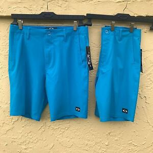 NWT OAKLEY MEN STANCE O HYDROLIX GOLF CASUAL SHORTS MULTI SIZES