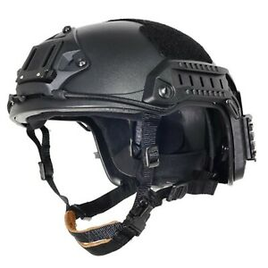 Lancer Tactical CA-806B Maritime ABS Helmet Color: Black Size: Large to X-Large