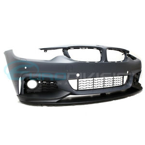BMW M Performance Style Front Bumper 4 Series F32  F33  F36 Fitment-With Headl