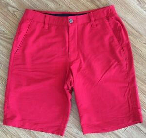 UNDER ARMOUR Men's Golf Shorts. Size 32. WORN ONCE.