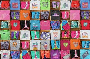 GIRLS SIZE 6X NIKE ~ RUNNING SHORTS ~ T-SHIRTS ~ HUGE LOT~5 CHOICES ~ up to $268